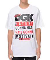 DGK Gonna Motivate White Tee Shirt