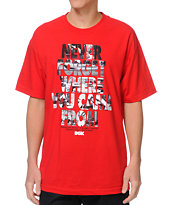 DGK Never Forget Red Tee Shirt