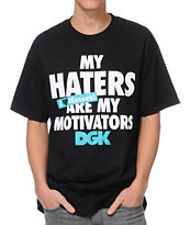 DGK Motivators Black Tee Shirt