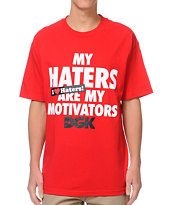 DGK Motivators Red Tee Shirt