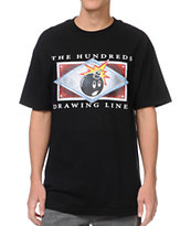 The Hundreds Name Plate Black Tee Shirt