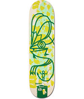 Alien Workshop Mikey Taylor Sketchbook 8.0 Skateboard Deck