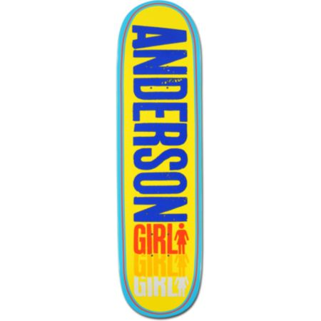 Girl Anderson Triple 8.5 Skateboard Deck