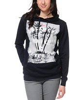Glamour Kills Dreamers Never Say Die Navy Pullover Hoodie