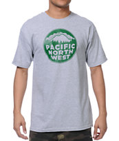 Casual Industrees PNW Grey Tee Shirt