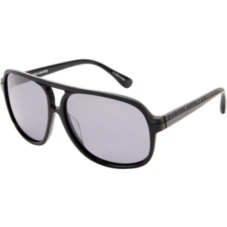 Diamond Supply Black Aviator Sunglasses