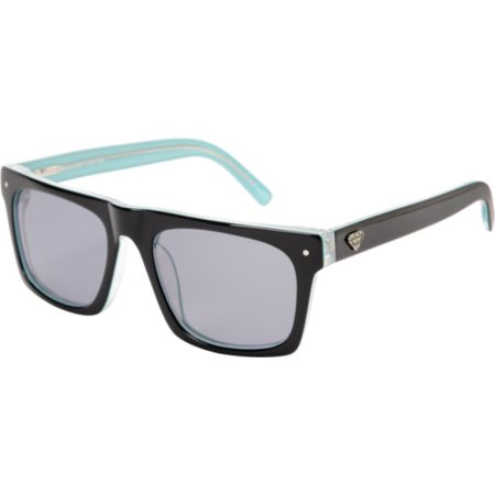 Diamond Supply Cordova Black & Teal Sunglasses