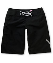 Volcom Girls Foster Gals 11 Black Board Shorts