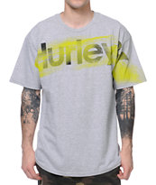 Hurley Blow Out Grey Tee Shirt