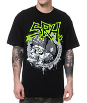 SRH Gross Skull Black Tee Shirt