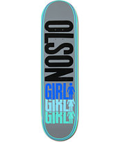 Girl Olson Triple 8.37 Skateboard Deck