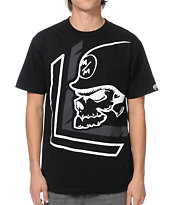 Metal Mulisha Warn Black Tee Shirt