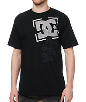 DC Dribble Black Tee Shirt