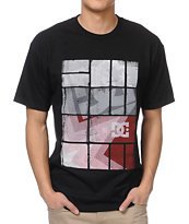 DC Square Stars Black Tee Shirt