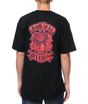Dark Seas Zephyr Black Tee Shirt