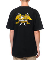 Loser Machine Condor Crest Black Tee Shirt