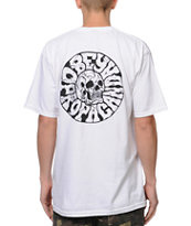 Obey Death Trip White Tee Shirt