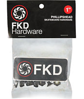 FKD 1 Inch Phillips Skate Hardware