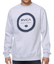 RVCA Wheel Grey Crew Neck Sweatshirt