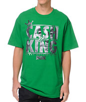 DGK Cash Is King Kelly Green Tee Shirt
