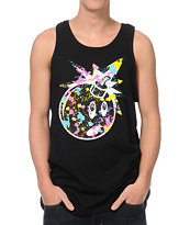 The Hundreds Splat Adam Black Tank Top