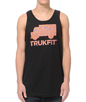 Trukfit Radiant Fill Black Tank Top
