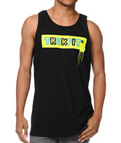 TrukFit Drip Black Tank Top