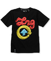 LRG CC Five Kids Black Tee Shirt