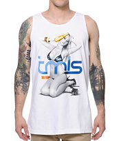 TMLS Cold One White Tank Top