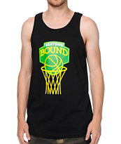 Casual Industrees Seatown Bound Black Tank Top