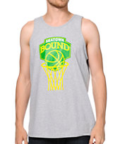 Casual Industrees Seatown Bound Grey Tank Top