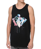 Diamond Supply Co I Art You Black Tank Top