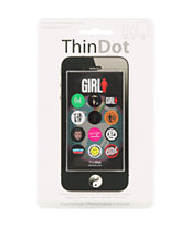 Girl Skateboards iPhone Home Button Sticker Pack