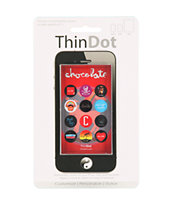 Chocolate Skateboards iPhone Home Button Sticker Pack