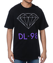 Diamond Supply DL-98 Black Tee Shirt