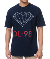 Diamond Supply DL-98 Navy Tee Shirt
