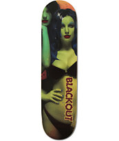 Blackout Zombie Girl 8.0 Skateboard Deck