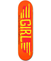 Girl Mike Mo BA Wings 7.8 Skateboard Deck