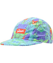 Chuck Originals Paradise Turquoise Camper 5 Panel Hat