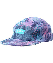 Chuck Originals Trippy Blue Printed Camper 5 Panel Hat