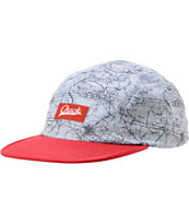 Chuck Originals Map It Printed Camper 5 Panel Hat