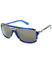 Von Zipper Stache Allegiance Blue Sunglasses