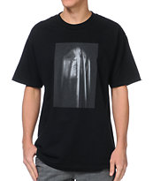 Black Scale Shroud Black Tee Shirt