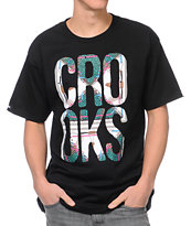 Crooks and Castles Regalia Black Tee Shirt