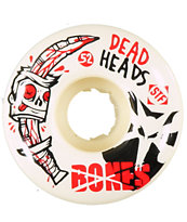 Bones Dead Head 52mm STF Skateboard wheels