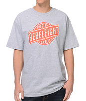 REBEL8 Trusted Quality Heather Grey Tee Shirt