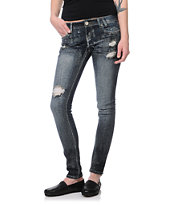 Almost Famous Katniss Dark Wash Skinny Jeans