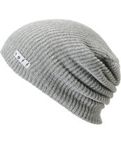 Neff Daily Heather Grey & White Beanie