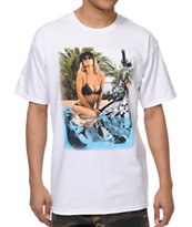 Unit Paradise White Tee Shirt