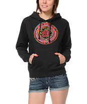 Obey Cosmic Blues Charcoal Pullover Hoodie